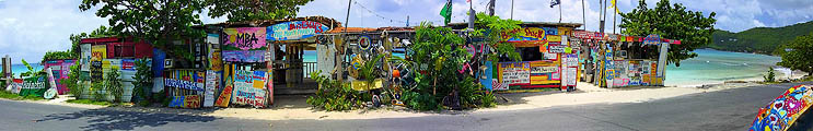 The Bomba Shack, Tortola