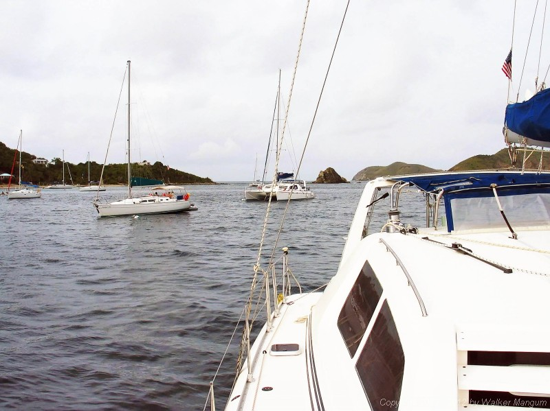 Panorama of Manchioneel Bay, Cooper Island
