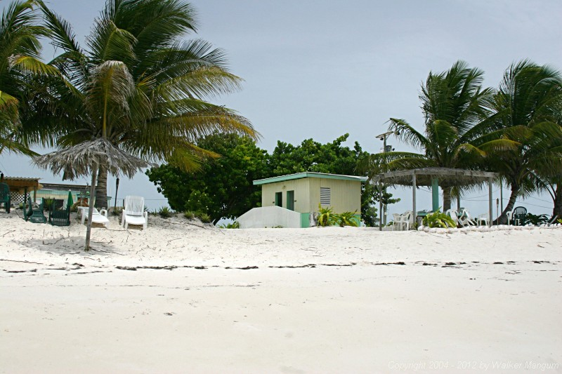 Panorama of Cow Wreck Beach Bar, Anegada