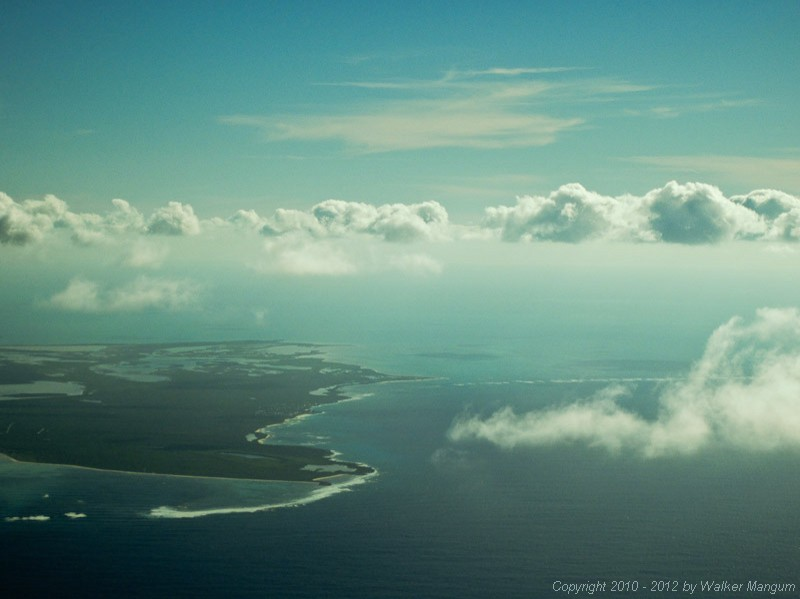 Approaching Providenciales.